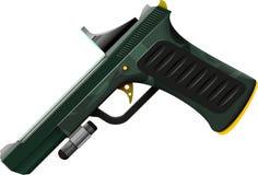 Tävlings- pistol Arkivfoton