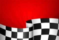 tävlings- red för bakgrund Arkivfoto