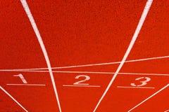 tävlings- spår Arkivbild