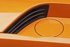 tävlings- sportar för bilbränsleöppning Royaltyfria Foton