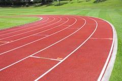 tävlings- stadionspår för bakgrund Royaltyfria Foton