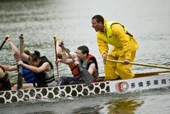 tävlings- stigning för fartygdrakemojo fotografering för bildbyråer