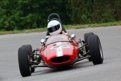 tävlings- uppåtriktad tappning för bil Arkivbild