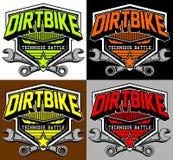 Tävlings- uppdelningsmx för motocross Royaltyfria Bilder