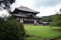 Tōdai-ji temple Daibutsu, Nara, Japan. View of the Daibutsuden Great Buddha Hall at Todai-ji Eastern Great Temple. Tōdai-ji is a Buddhist temple complex Stock Images
