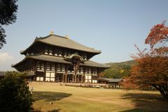 T�dai-ji Temple Nara Royalty Free Stock Photo