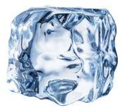 tła sześcianu lodu biel Makro- strzał Ścinek ścieżka zdjęcie royalty free