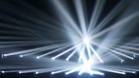 tło abstrakcjonistyczna plama Światła reflektorów złączeni promienie światła tło obrazy royalty free