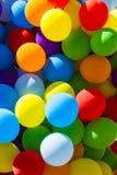 Tło set barwioni balony zdjęcia stock