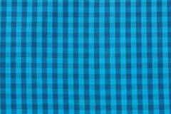 Tło tekstura szkockiej kraty tkanina jest błękitna kraciaste abstrakcyjne tło obraz stock