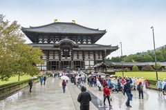 TÅ- Dai--jitempel Nara Japan Lizenzfreie Stockfotos