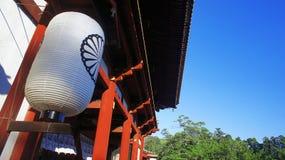 TÅ 戴籍寺庙日本奈良公园 库存照片