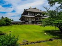 TÅ 戴籍寺庙,奈良 免版税库存图片