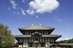 TÅ 戴籍寺庙(Daibutsu),奈良 免版税图库摄影