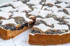 Tårta av den österrikiska townen Linz Royaltyfria Foton