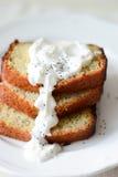Tårta med glasyr Arkivbild