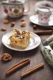 Tårta och kaffe royaltyfri bild