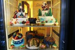 Tårtan shoppar Arkivbilder