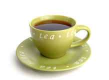 Tè 2 del tè del tè Immagine Stock