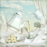Tè al latte Immagini Stock