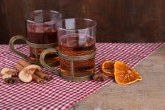Tè aromatizzato della frutta Immagine Stock Libera da Diritti