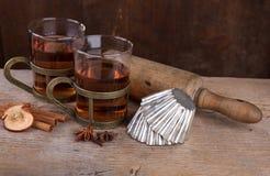 Tè aromatizzato della frutta Fotografia Stock
