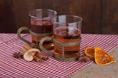 Tè aromatizzato della frutta Immagine Stock