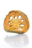 Tè asciutto della frutta di cotogno del bengala (aegle marmelos) Immagini Stock Libere da Diritti