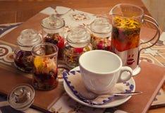 Tè in barattolo Immagini Stock