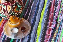 Tè beduino Fotografia Stock Libera da Diritti