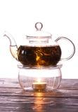 Tè-bianco Fotografia Stock Libera da Diritti