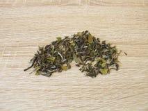 Tè bianco Darjeeling dall'India del nord Immagine Stock