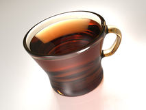 Tè caldo Fotografie Stock