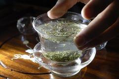 Tè cinese Fotografie Stock