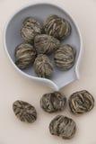 Tè cinese del fiore immagini stock