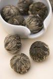 Tè cinese del fiore fotografia stock