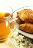 Tè con cotto Fotografia Stock Libera da Diritti