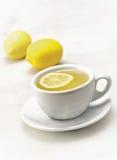 Tè con il limone Fotografia Stock Libera da Diritti