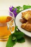 Tè con melissa Fotografie Stock Libere da Diritti