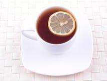 Tè con piacere Immagini Stock