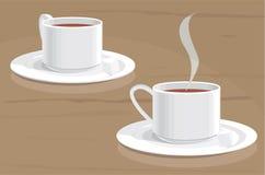 Tè con zucchero Fotografie Stock Libere da Diritti