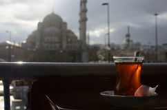 Tè a Costantinopoli immagine stock