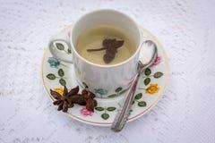 Tè del chiodo di garofano Fotografie Stock Libere da Diritti