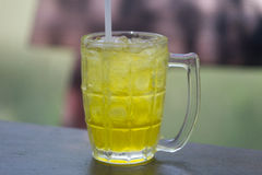 Tè del crisantemo o tè del fiore Immagine Stock