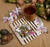 Tè del fiore Fotografie Stock