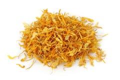Tè del fiore del Calendula fotografie stock
