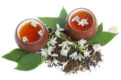 Tè del gelsomino Immagine Stock