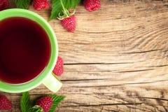 Tè del lampone Fotografia Stock