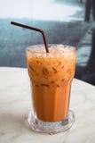 Tè del latte ghiacciato Fotografia Stock Libera da Diritti