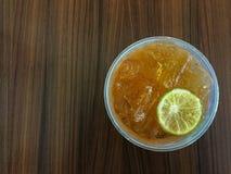 Tè del limone Immagini Stock Libere da Diritti